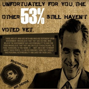 Mitt's 47% perception