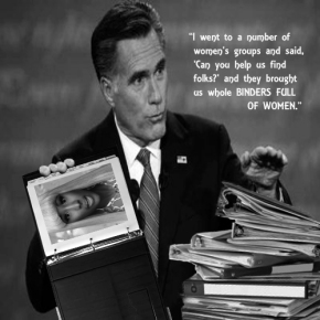 Another Mitt-Spired piece of art.