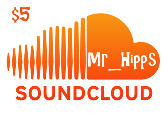 Looking for promotion and custom album covers? Look no further! Mr_Hipps will promote your tracks on his Soundcloud page which averages thousands of unique visitor per day.